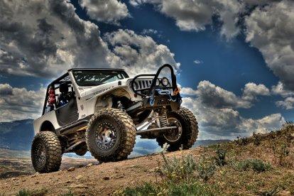 Off-Road rijden in een 4x4 terreinwagen