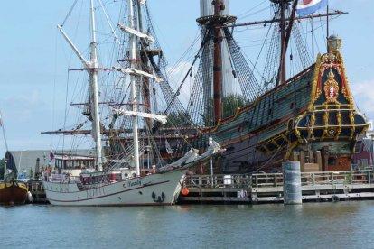 VOC-zeiltocht over het IJsselmeer