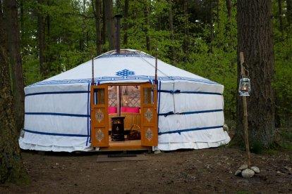 Unieke overnachting in een Mongoolse Yurt