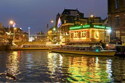 Romantische avondcruise door Amsterdam