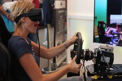 Virtual Reality race experience
