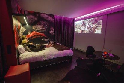 Romantisch prive diner in je eigen prive Lounge
