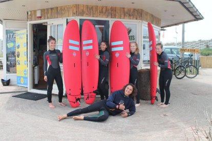 Surfles in Zandvoort aan Zee