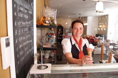 Verkoelende ijsproeverij bij Proef! in Schoonhoven