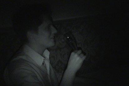 High Tea in het donker