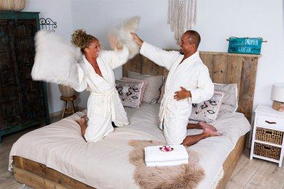 Luxe privé sauna en een heerlijke liefdesovernachting