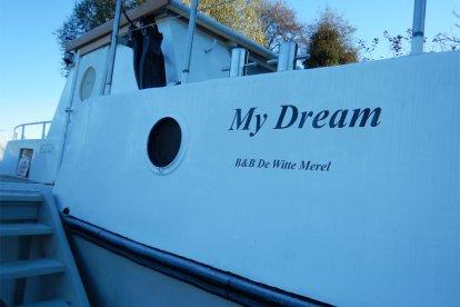 Overnachten in een boot