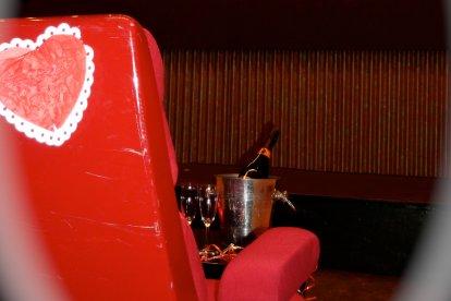 Romantische privé-bioscoop
