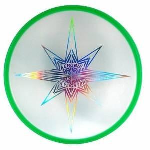 Aerobie frisbee Skylighter 30 cm groen