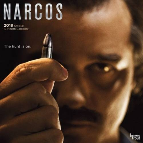BrownTrout kalender 2018 Narcos 30 cm
