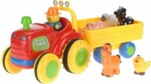 Baby Toys Tractor met trailer