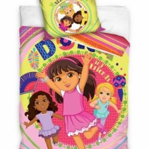Nickelodeon dekbedovertrek Dora Together 140 x 200 cm