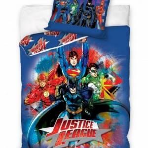 Carbotex Dekbedovertrek Justice league 160 x 200 cm