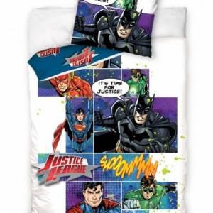 Carbotex Dekbedovertrek Justice League Comic 160 x 200 cm