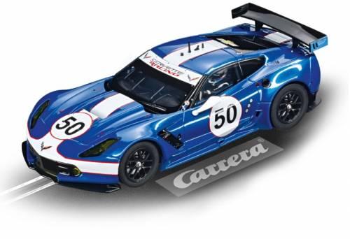 Carrera Evolution racebaan auto Chevrolet Corvette C7.R blauw