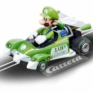 Carrera Go racebaan auto Mario Kart Circuit Special Luigi