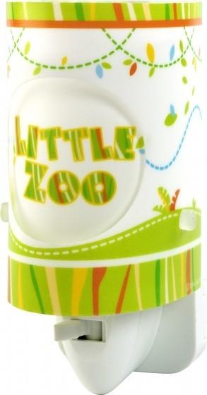 Dalber nachtlamp Little Zoo 13 cm wit/groen