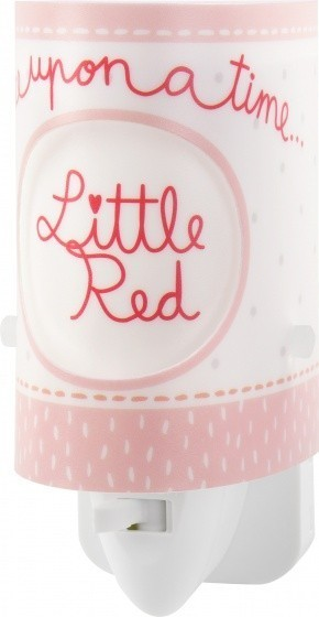 Dalber nachtlamp LIttle Red 13 cm roze