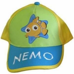 Disney Baseball Cap Nemo Geel Groen Blauw Maat 46/50