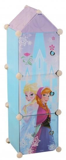 Disney Frozen opbergkast meisjes blauw 95 x 26 x 26 cm