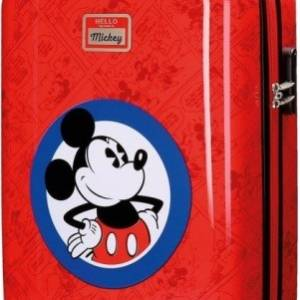 Disney Mickey Mouse trolley 35 liter rood