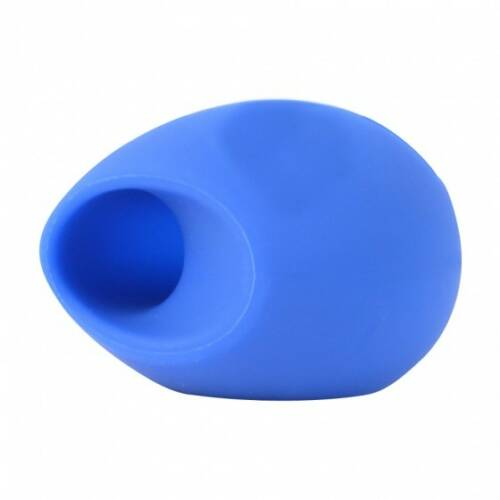 Dresz speaker Egg iPhone4/4S siliconen 8 cm blauw
