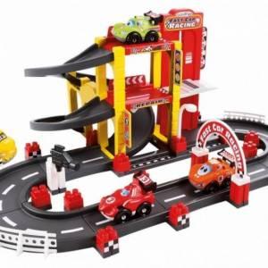 écoiffier Abrick: formule 1 garage met circuit