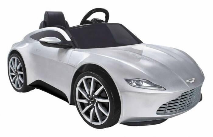 Feber accuvoertuig Aston Martin auto 007 James Bond 6v