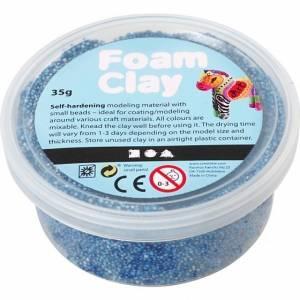 Foam Clay klei blauw 35 gram (78922)