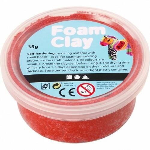 Foam Clay klei rood 35 gram (78923)