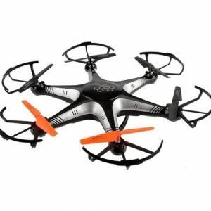 Force Flyers Adventurer drone met remote handschoen zwart 47 cm