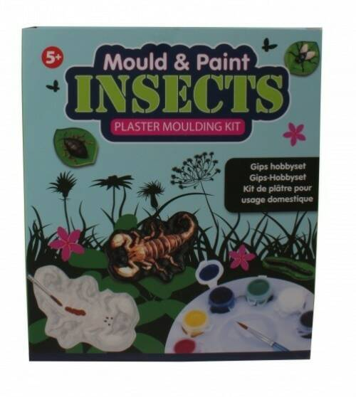 Free and Easy gips hobbyset insects
