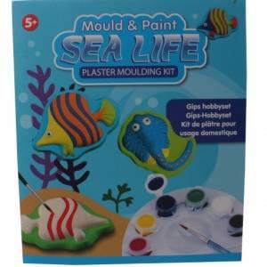 Free and Easy gips hobbyset sealife