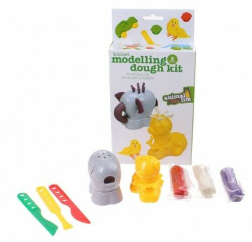 Free and Easy kleiset moddeling dough kit paars 8 delig