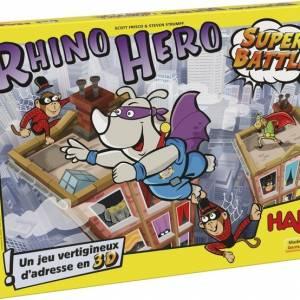 Haba evenwichtsspel Rhino Hero Super Battle (FR)