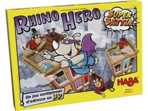 Haba evenwichtsspel Rhino Hero Super Battle (FR)