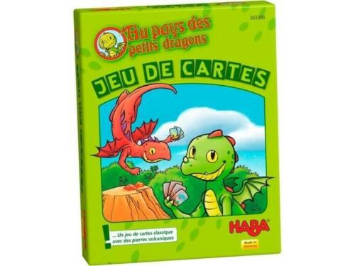 Haba kwartetspel Au Pays des Petites Dragons (FR)