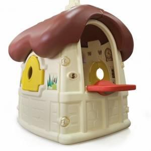 Injusa speelhuis Chocolat Cottage crème/bruin 150 cm
