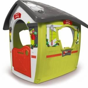 Injusa speelhuis Forest Ranger House groen/grijs 117 cm