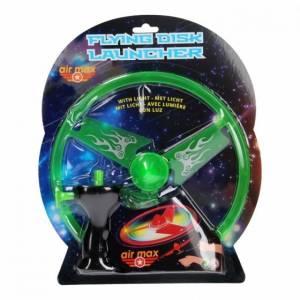 Johntoy lanceerdisk Air Max met licht groen