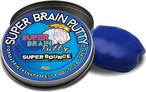 Joker Entertainment Super Bounce Brain Putty blauw