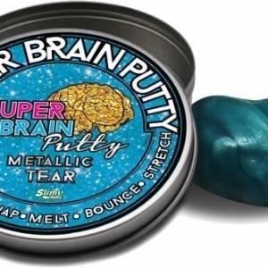 Joker Entertainment Super Metallic Brain Putty blauw