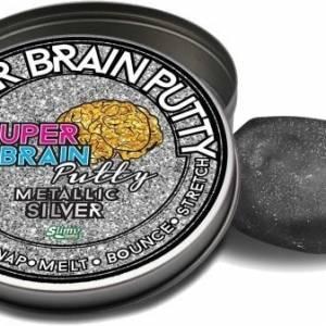 Joker Entertainment Super Metallic Brain Putty zilver