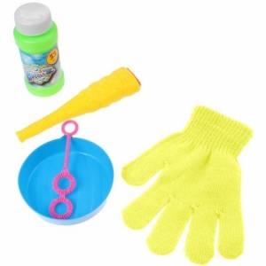 Jonotoys bellenblaas met handschoen 5 delig geel