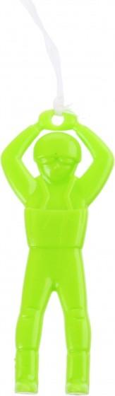 Jonotoys parachutespringer groen 5 cm