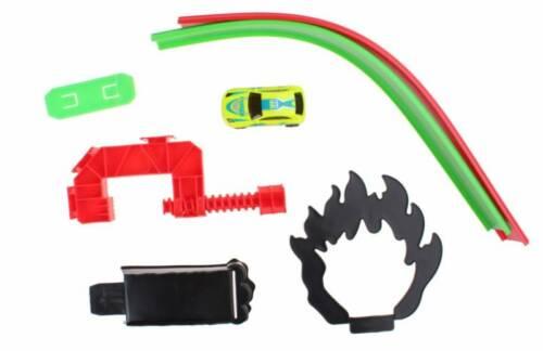 Jonotoys racebaan Track racing met auto groen 80 cm
