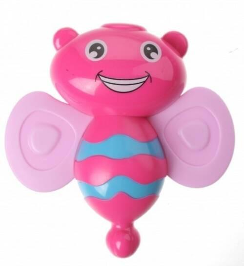 Let's Play rammelaar dieren junior 11 x 8 cm roze