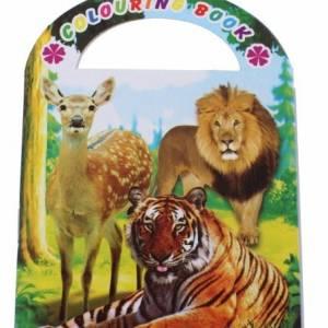 LG Imports kleurboek dierentuin 9 cm