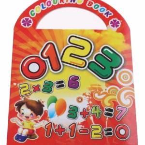 LG Imports kleurboek getallen 9 cm