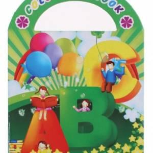 LG Imports kleurboek letters 9 cm